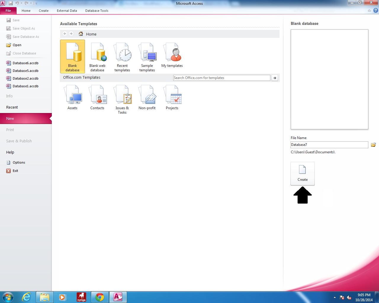 microsoft access 2014 tutorial
