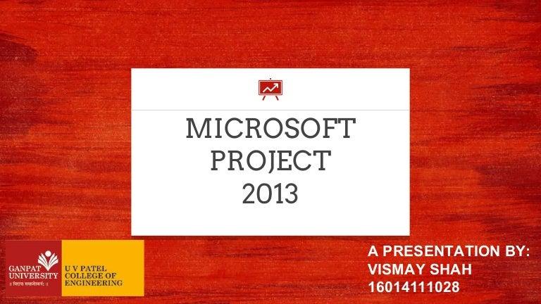 microsoft project 2013 tutorial pdf