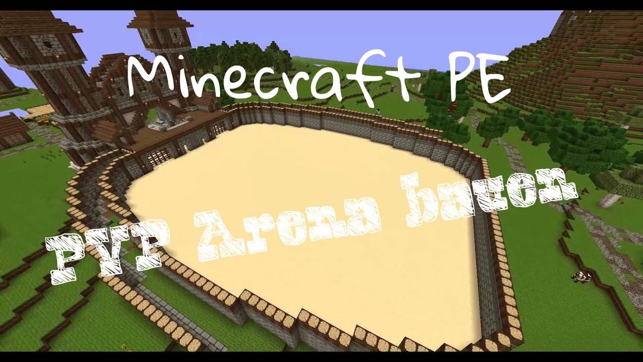 minecraft pvp arena tutorial