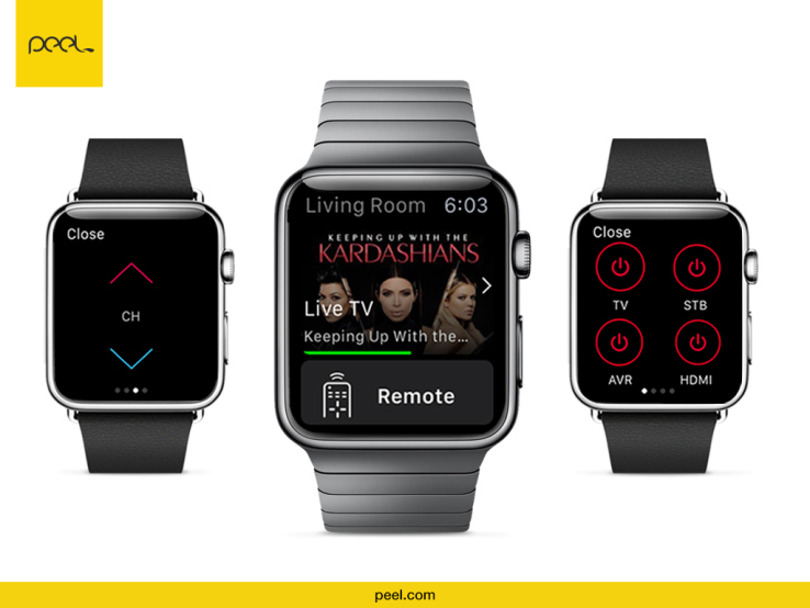 peel smart remote tutorial