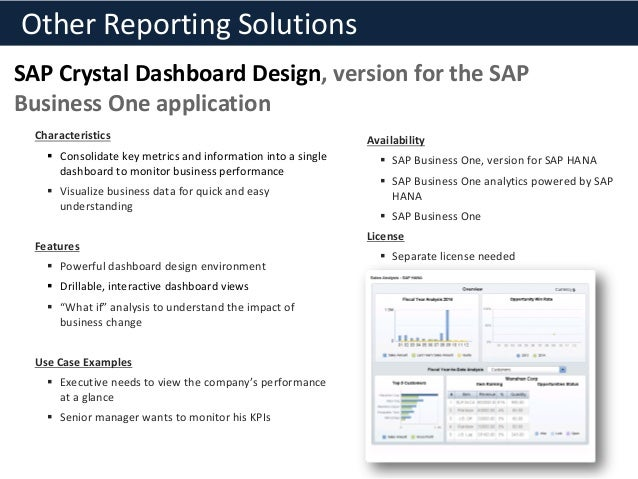 sap crystal reports tutorial