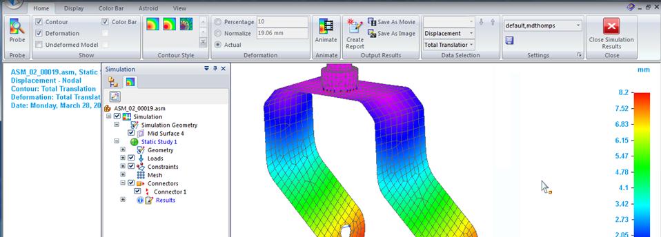 solid edge simulation tutorial