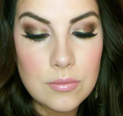 too faced natural love palette makeup tutorial