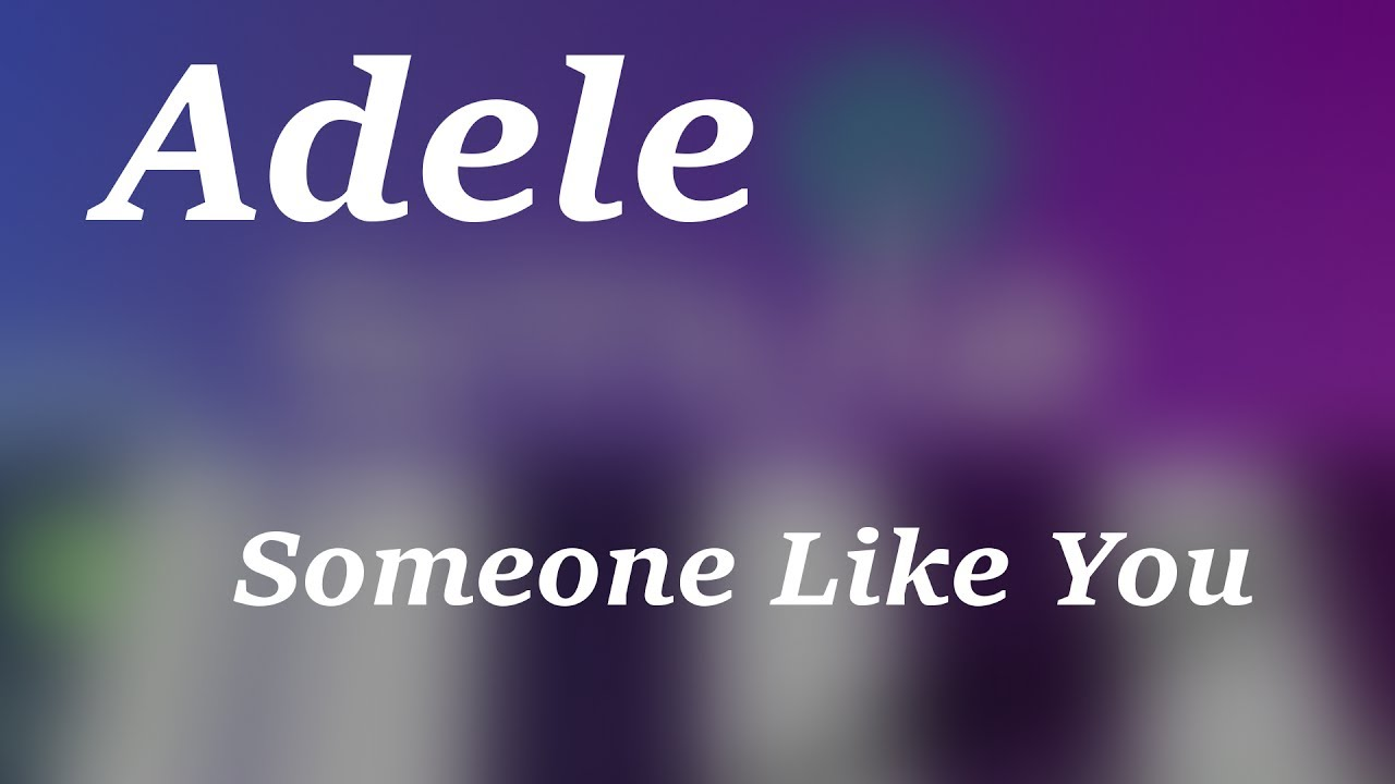 tutorial piano adele someone like you