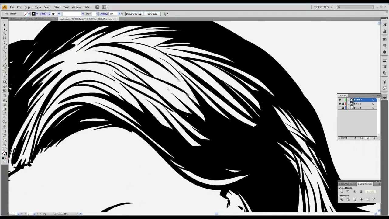 vector graphics illustrator tutorial