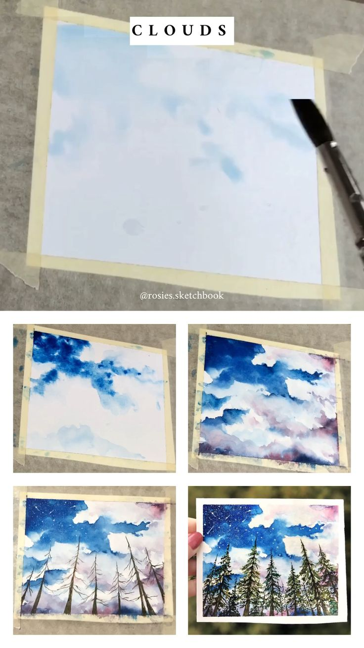 watercolor painting tutorial step by step