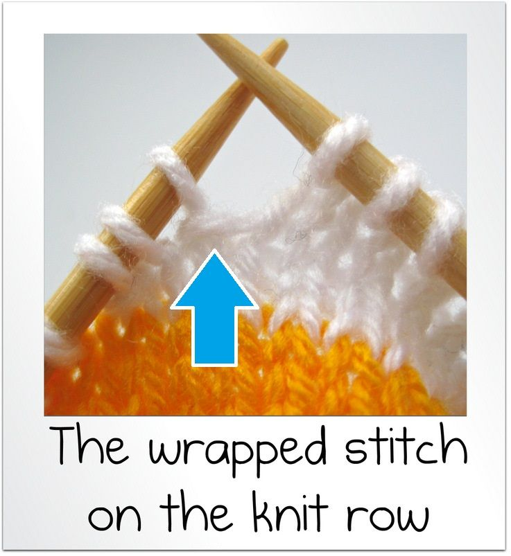 wrap and turn knitting tutorial